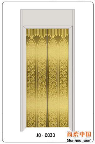 供应彩色不锈钢金黄色电梯蚀刻板