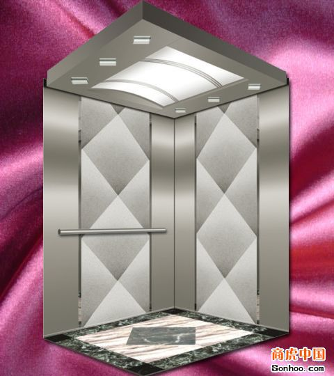 供应彩色不锈钢黑色电梯蚀刻轿厢装饰板