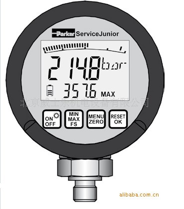 parker压力表,parker数字压力表SCJN-1000-0