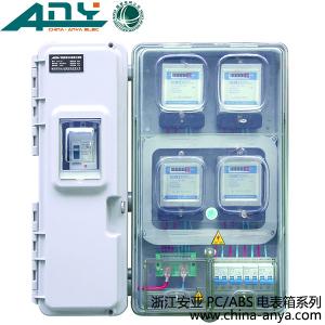 各种规格的机械式电表或电子式电表,并可安装用户开关和漏电 保护器