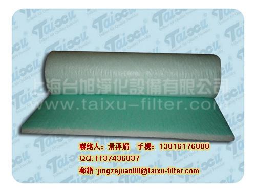 上海玻璃纤维滤网,玻璃纤维过滤棉