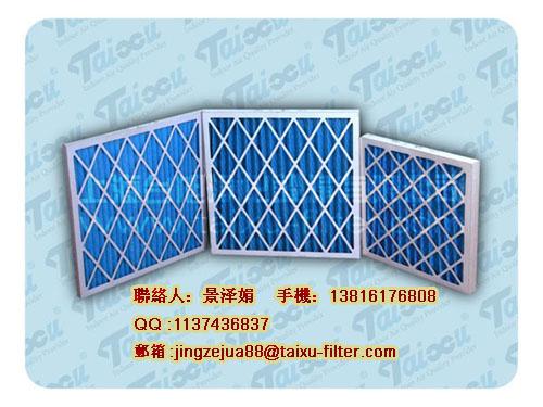 595*595*45mm初效纸框空气过滤器(过滤棉、过滤网)