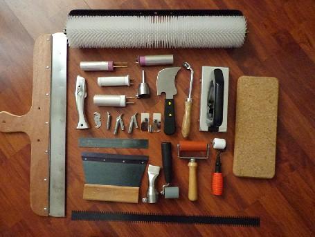 塑胶地板铺设工具(勾刀,软木,刮胶板,快速焊嘴)
