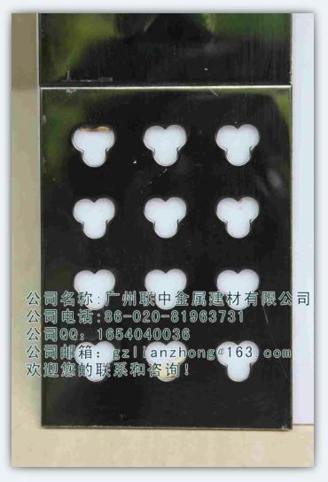 金属钢板花纹激光板镂空板