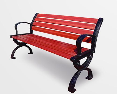 山东户外实木休闲座椅|公园椅|防腐木长椅