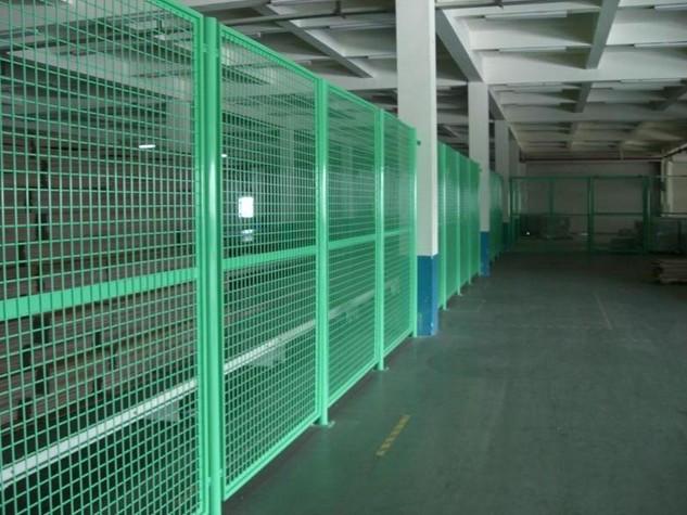 仓库隔离网,车间隔离网,库房防护网 仓库铁丝网围墙 室内铁丝网