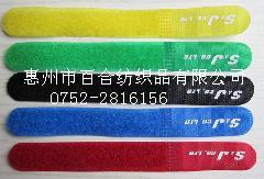 东莞魔术贴数据线扎带印字绑带