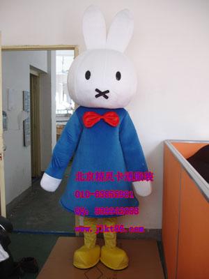 供应北京精灵卡通服装,聪明兔卡通人偶服