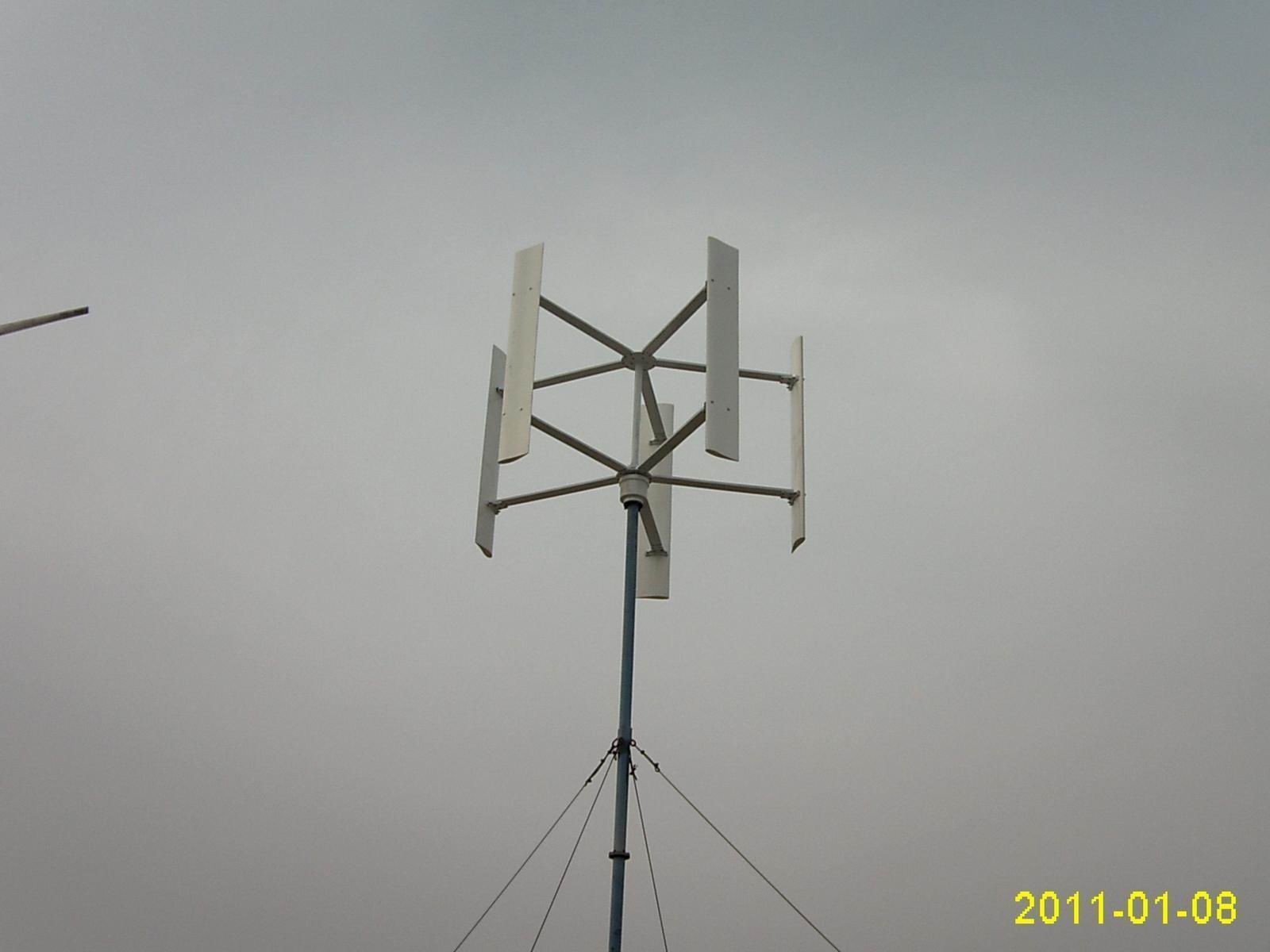 风力发电机2kw的垂直轴风力发电机