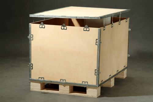 吴江钢带苏州木包装箱物品运输专业定做