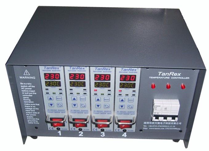 热流道温控器,插卡式热流道温控箱温控仪