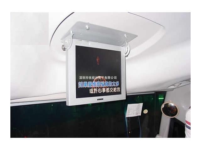 17寸滚动字幕车载广告机
