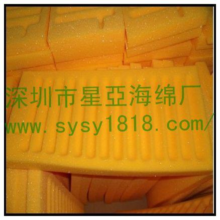 供应电子海棉防震包装盒、铝箱电子海绵内衬盒