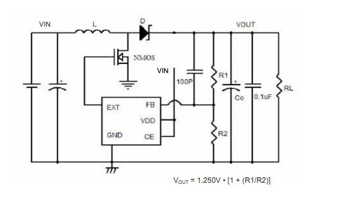 小封装升压IC 大电流3.7V升5V 1A