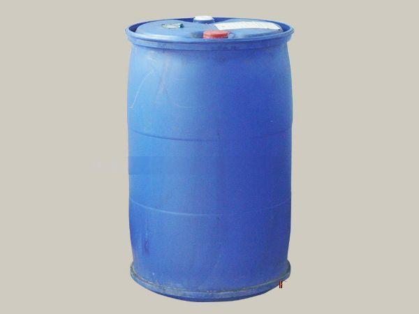 200l八成新蓝色塑料包装桶