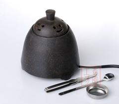 XY95紫砂金刚(紫色、清水泥、古铜泥) 调温电子熏香炉