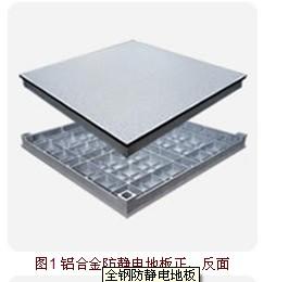 铝合金防静电地板/铝合金防静电通风板