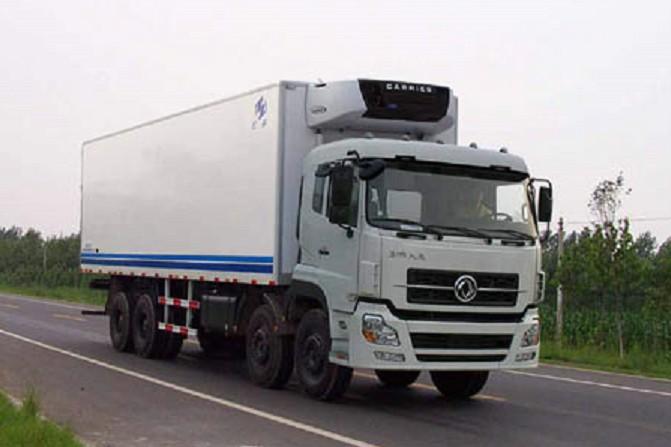 东风天龙前四后八冷藏车价格丨30吨冷藏货车厂家直销