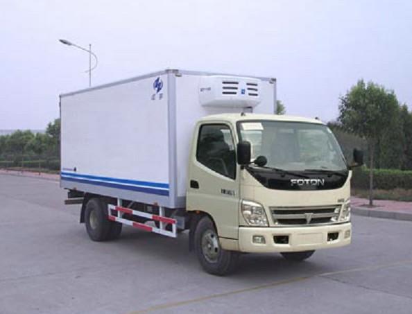 福田3吨冷藏货车配置丨厢长5米左右的冷藏车