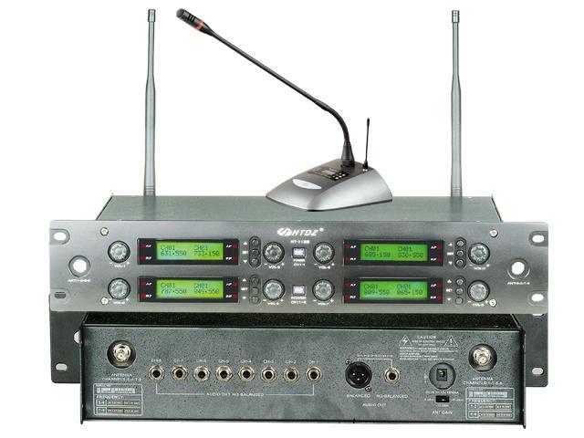海天HT1188一拖八数字无线会议麦克风