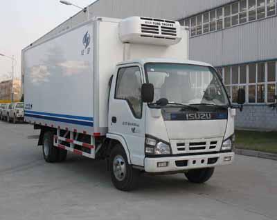 厢体长度5米的五十铃冷藏车、保温车、冷冻车