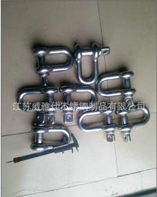 焊接高强度D型索具卸扣