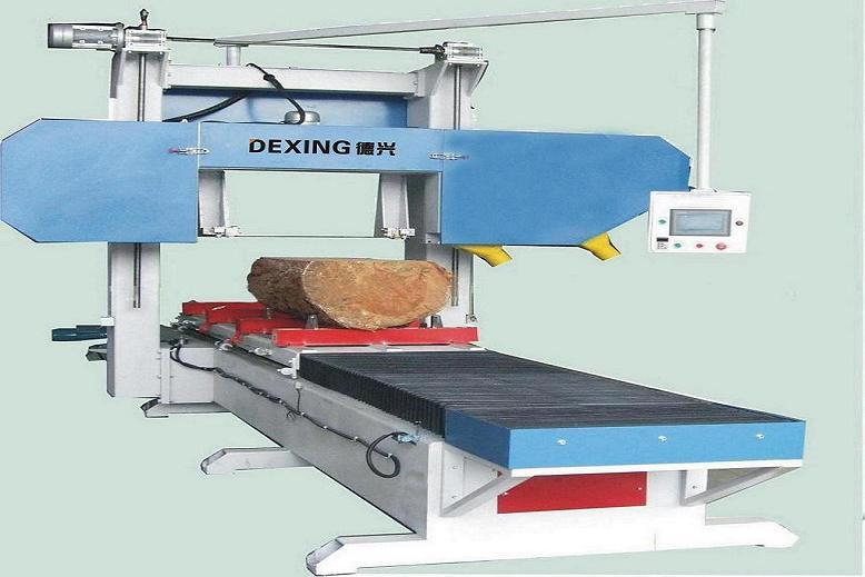 大型龙门锯全自动卧式带锯机MJ3971-800