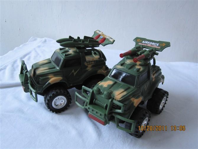 军事惯性战车(澄海塑料玩具