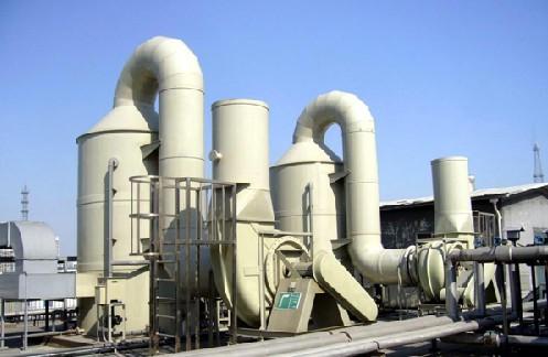 东莞废气治理工程,广东有机废气处理塔安装和酸雾废气净化器