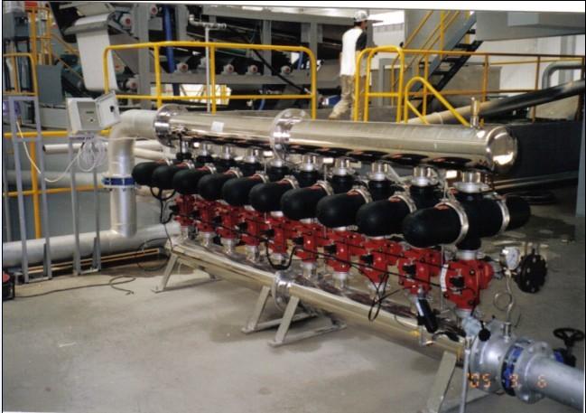 盘式过滤器,电子厂水处理盘式过滤器