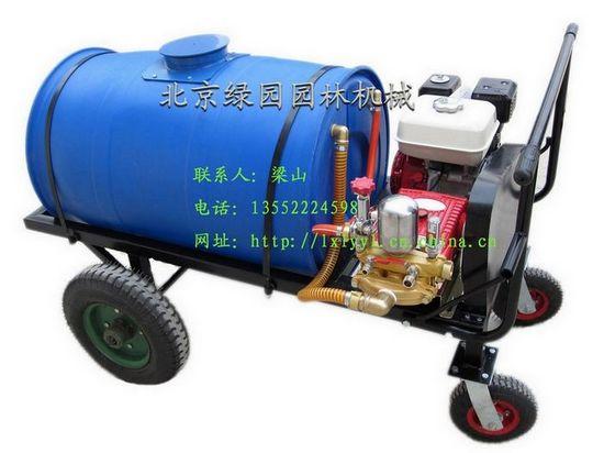 供应果园绿化四轮打药车园林绿化机械保养草坪剪草机等