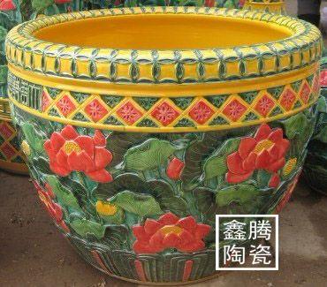 景德镇鑫腾陶瓷生产供应开业乔迁礼品、家居装饰品-景德镇陶瓷大缸