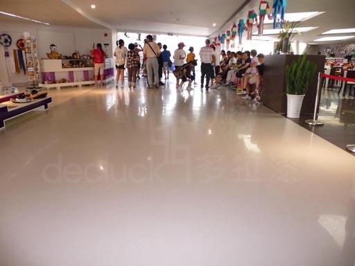 水性环氧漆应用于环氧地坪,施工环保的水性自流平环氧地坪