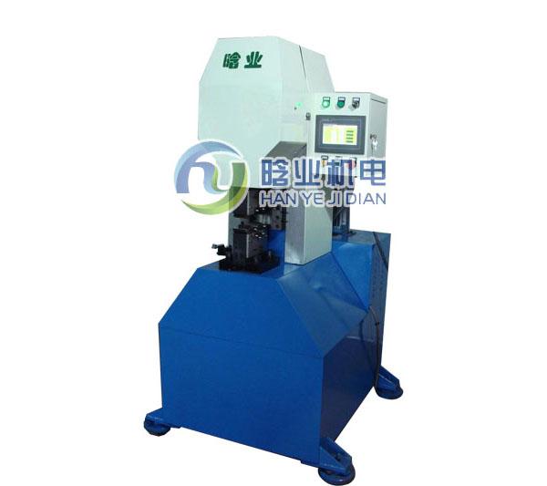 动力管缩口机,空调管啤候机,钢管扣压机,铝管扣合机,金属接头机