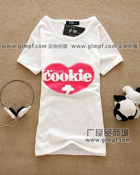 广州夏季男女短袖T恤批发网上最好卖T恤批发厂家网上最新款的货源批