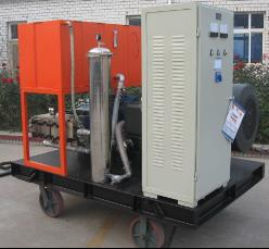 YE水泥厂高压水除垢设备