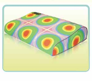 防尘螨过敏枕头 磁性颈椎治疗枕