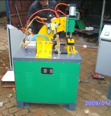气动美格网点对焊机双头美格网焊机