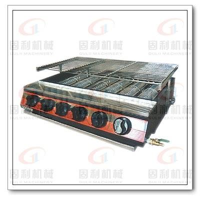 湖南烧烤炉,燃气烤鸡炉,旋转式电烤炉