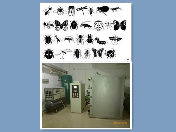 真空充氮杀虫灭菌消毒机