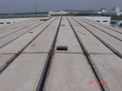 发泡水泥复合板——钢骨架轻型屋面板