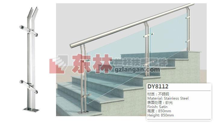 商场防护不锈钢立柱加工-水晶立柱-不锈钢加木立柱