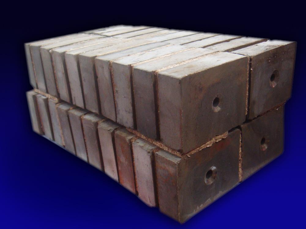 水泥厂除铁设备 方形磁棒