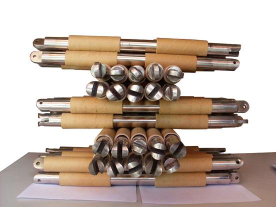 溜槽浆料除铁设备 永磁磁力棒