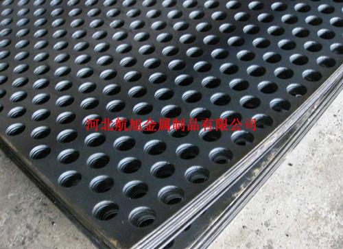 304不锈钢冲孔网、钢板网、冲孔网片、圆孔网