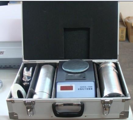 电子谷物容重器分析容重与水分的关系
