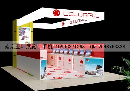 南京电脑展柜设计制作
