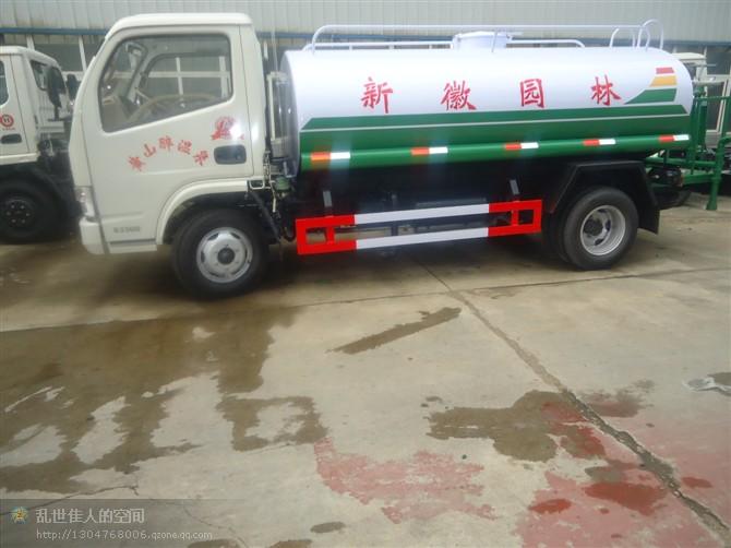 东风福瑞卡5吨园林绿化洒水车
