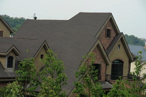 特价供应(高品质高质量低价格)高档别墅沥青彩瓦