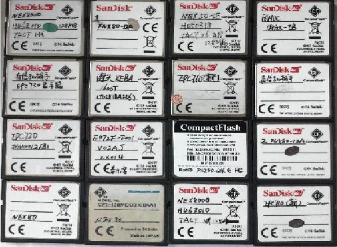 日本电动注塑机程序卡、程序硬盘、CF卡、电子硬盘